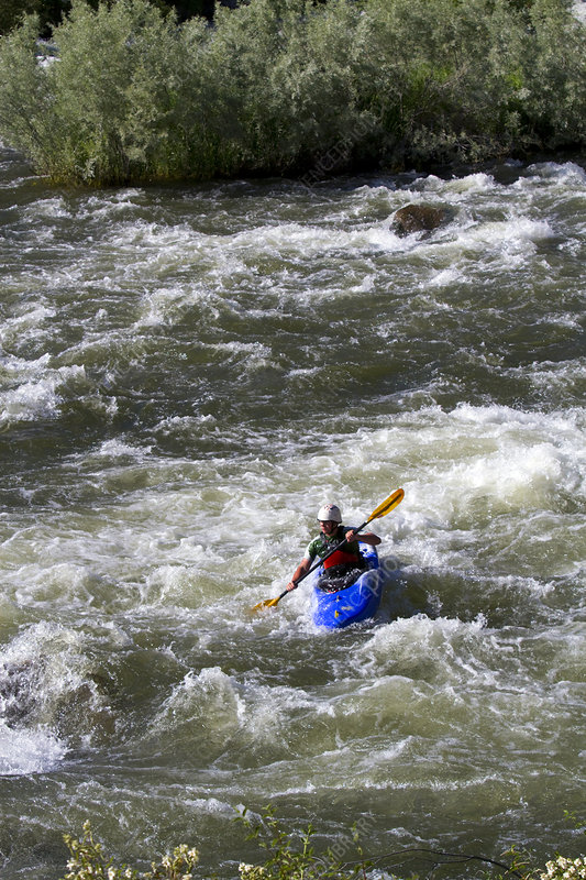 Whitewater Kayaking on the Payette River