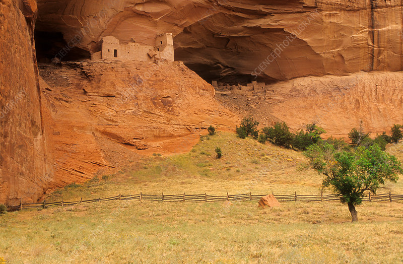 Cliff Dwelling, Canyon de Chelly, Arizona