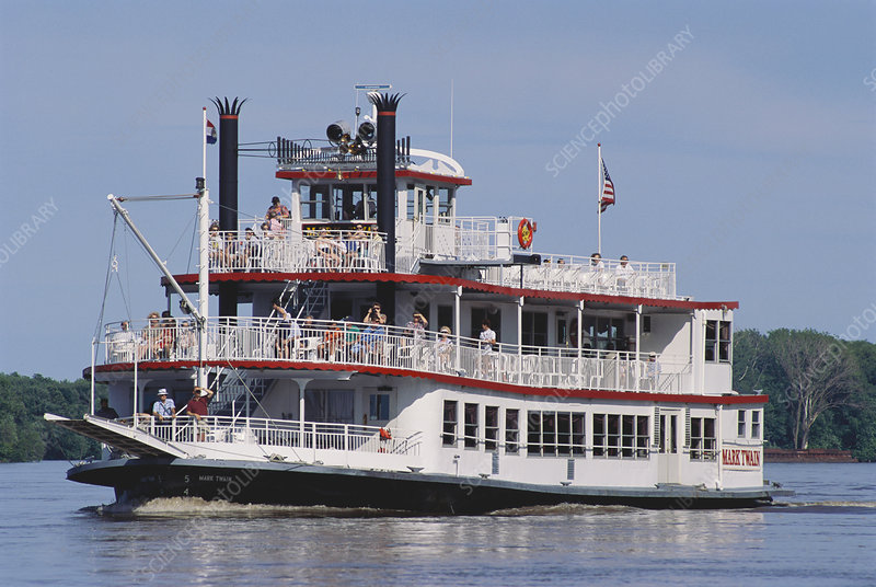 The Mark Twain Mississippi Riverboat