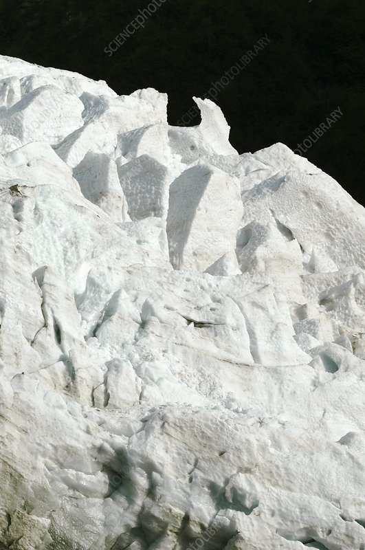 Glacier des Bossons, French Alps