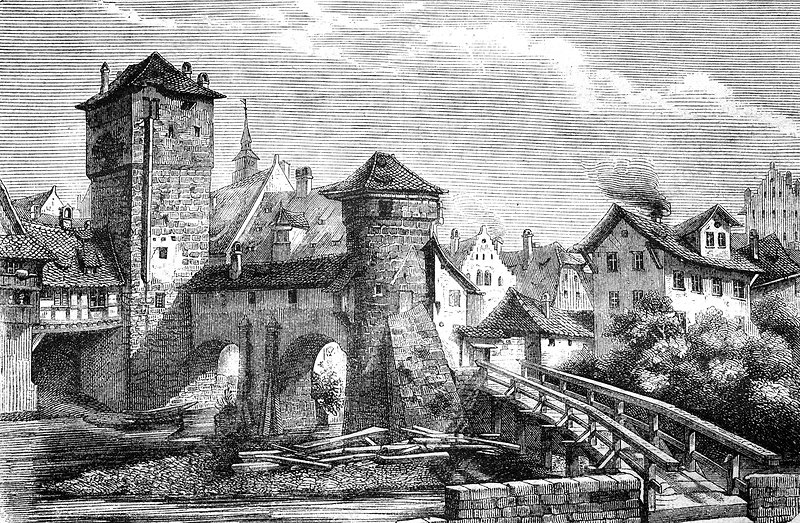 Iron Tower, Nuremberg, 1880s