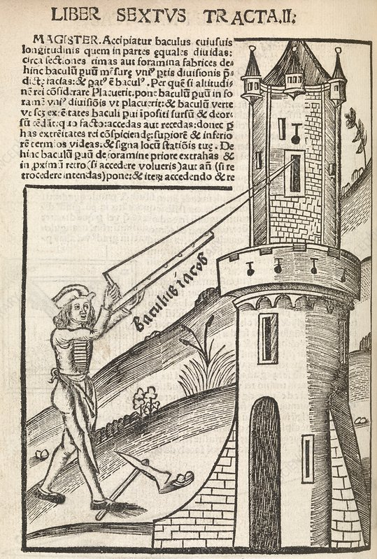 Surveying methods, 16th century