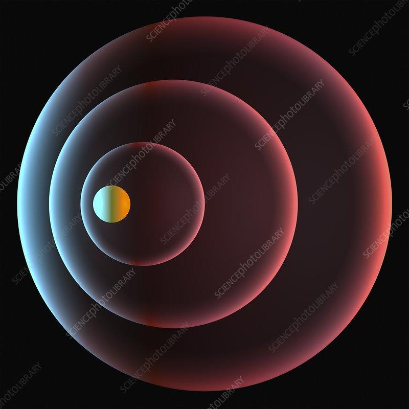 Doppler effect, artwork