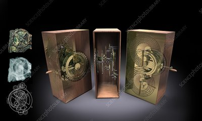 Antikythera mechanism, artwork