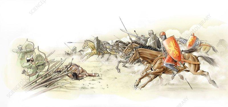 Battle of Arsuf, Third Crusades, 1191