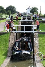 Foxton Locks, lower staircase