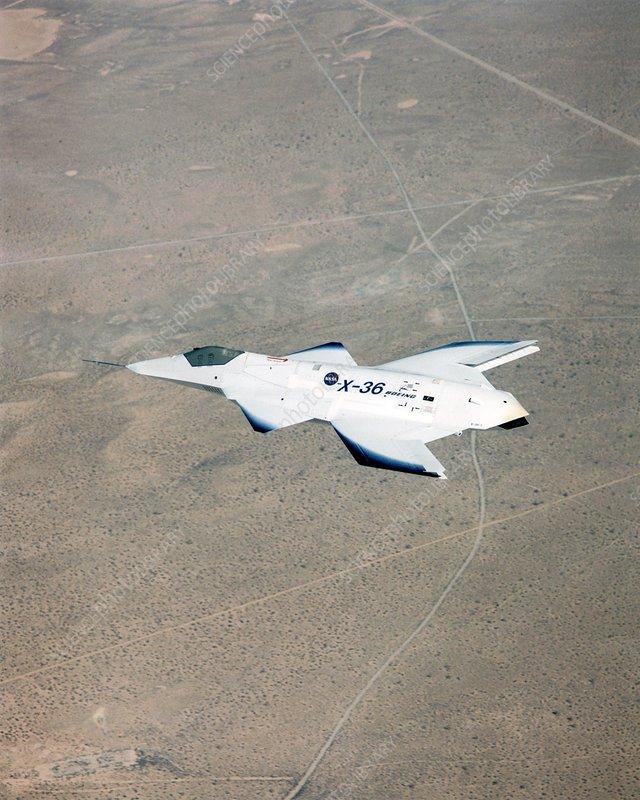 McDonell Douglas X-36 aircraft