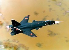 Sukhoi Su-47 Berkut fighter aircraft