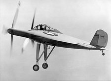 Vought V-173 experimental aircraft