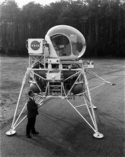 Lunar Landing Research Vehicle