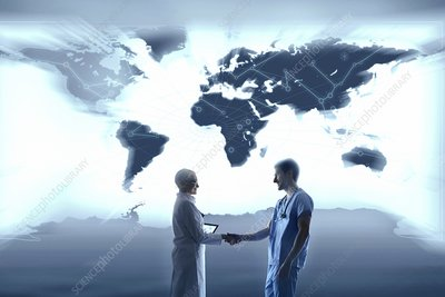 Global healthcare, conceptual image
