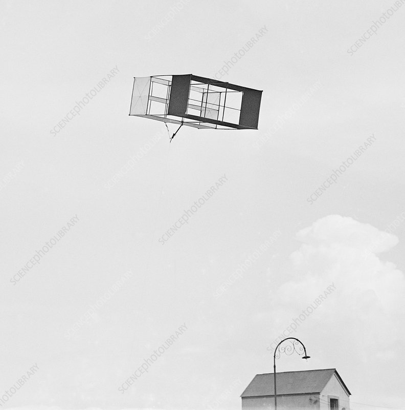 US Weather Bureau kite, 1917
