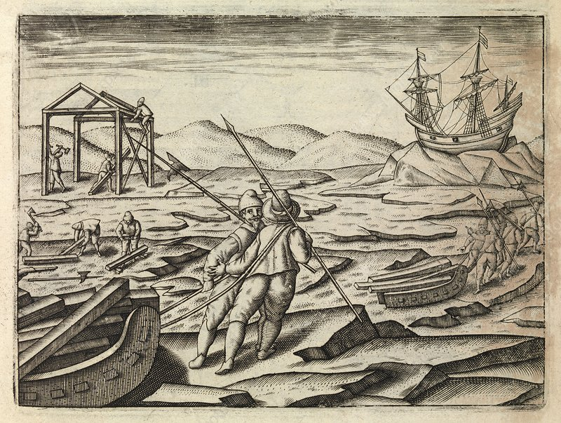 Dutch Northeast Arctic expedition, 1596-7