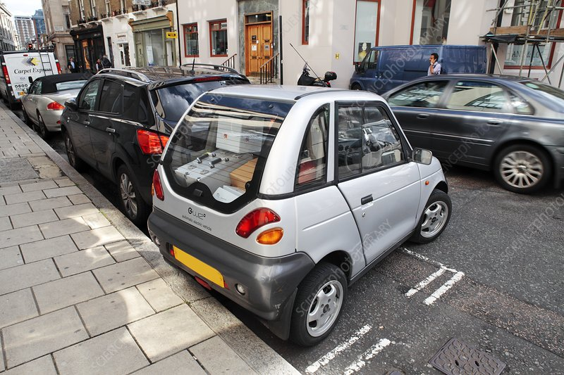 Electric car, UK