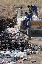 Rubbish dumping, South Africa