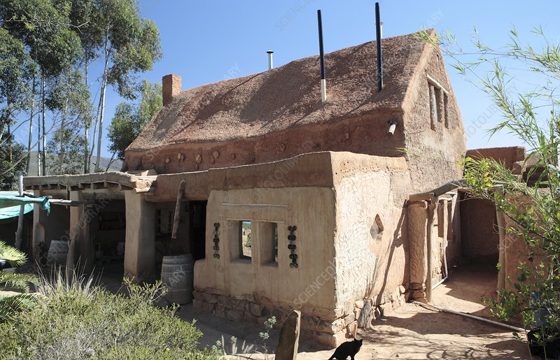 Cob house, South Africa