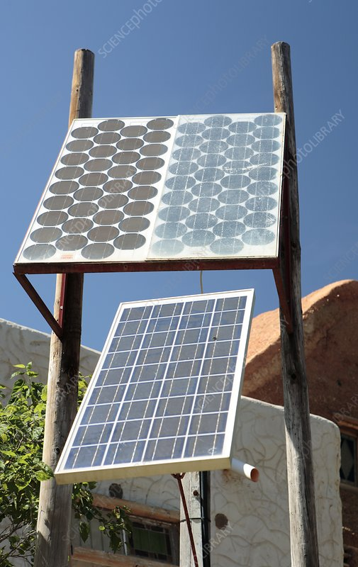 Domestic solar panels, South Africa