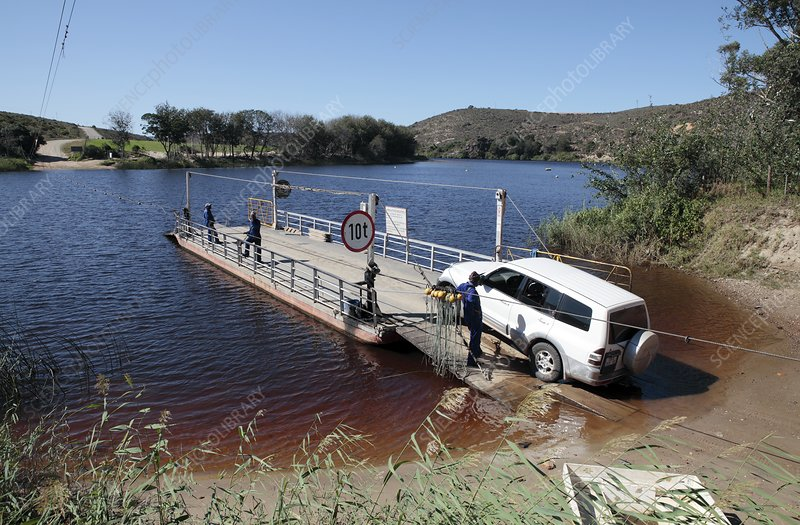 Cable ferry, Bree River, South Africa