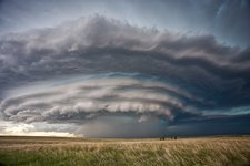 Supercell thunderstorm, Montana, USA
