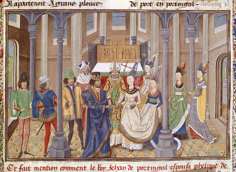 Marriage of King John I of Portugal