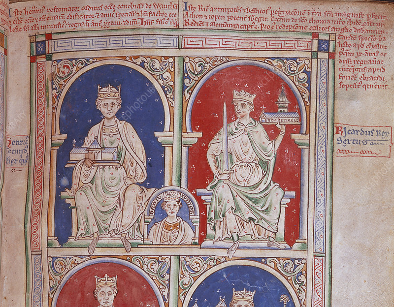 Henry II and Richard I