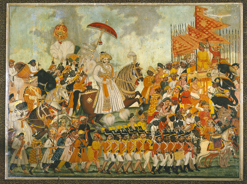 Procession of Raja of Tanjore