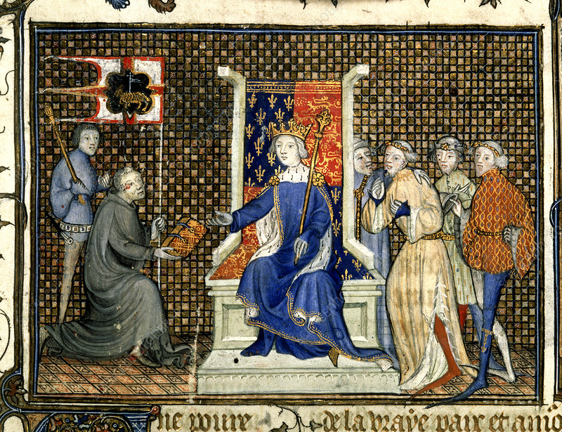 Presentation to Richard II