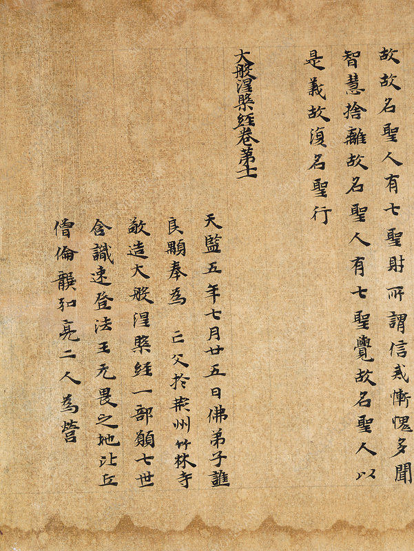 Chinese Buddhist calligraphy