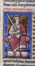 Ethelred the Unready with sword