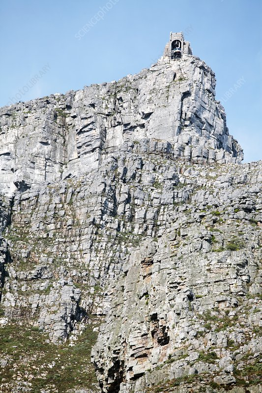 Table Mountain cable car, South Africa