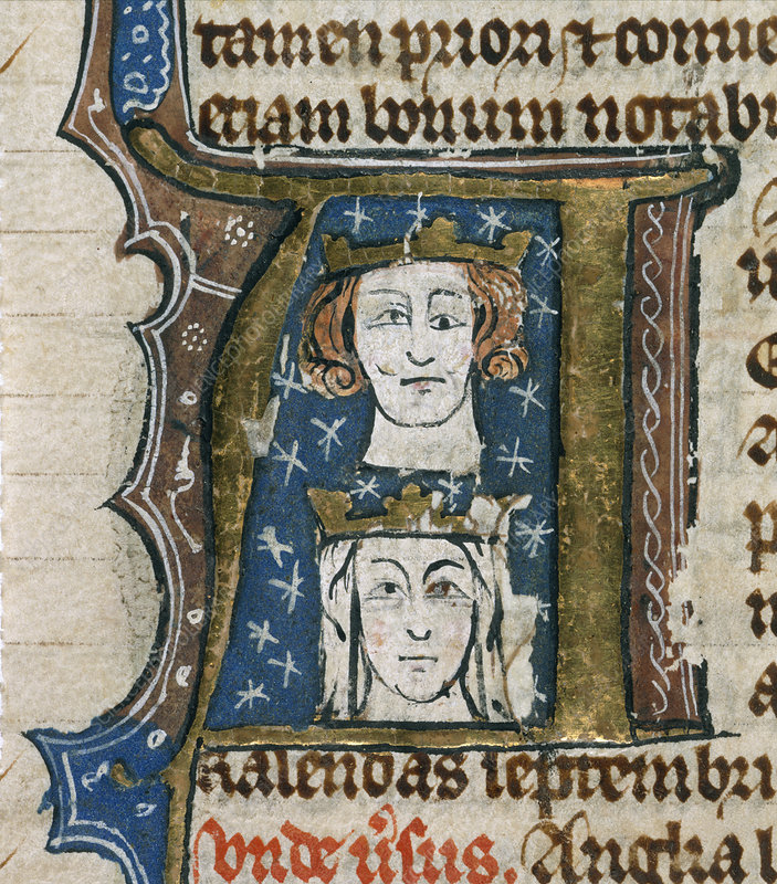 Edward I and Queen Eleanor