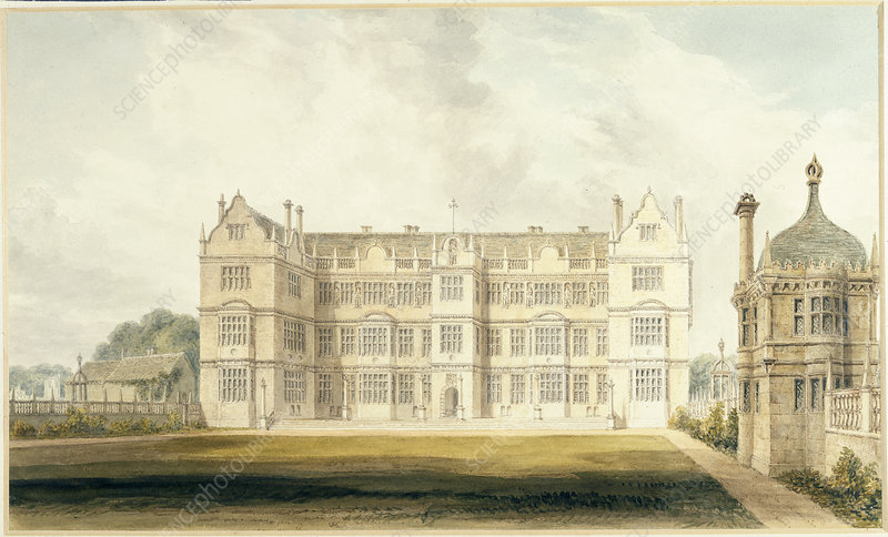 The east front of Montacute House