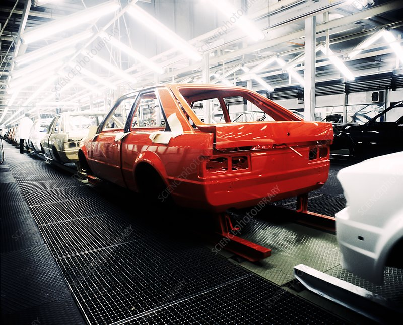 Ford car production line