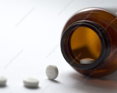 Haloperidol tablets and bottle