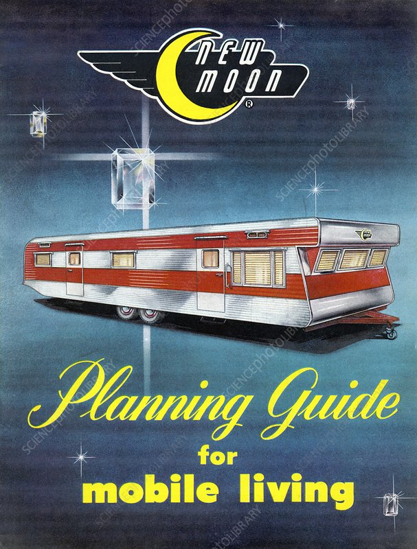 Planning guide for mobile living, 1950s