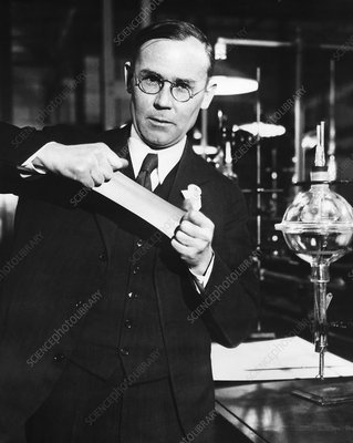 Wallace Carothers, US chemist