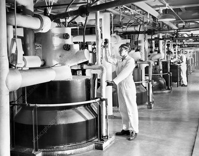 Nylon production, 1950s