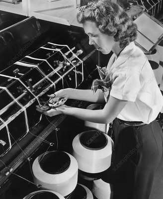Nylon production, 1940s