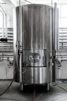 Brewery fermenting vat
