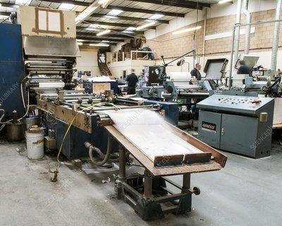 Bookbinding machinery