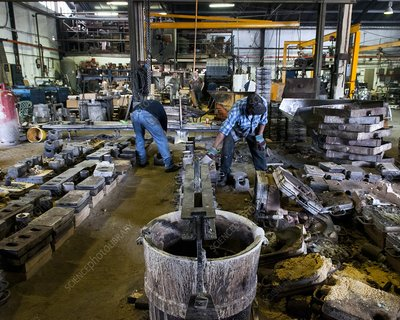 Sand and die casting foundry