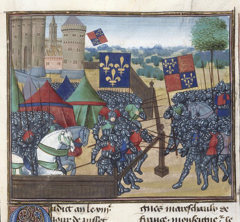 Siege of Castillion sur Dordogne