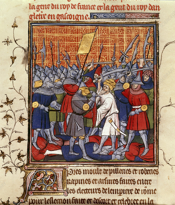 Austrians and Saracens defeated