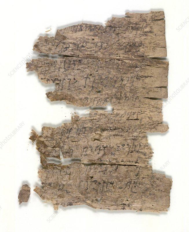 Fragmentary Buddhist text