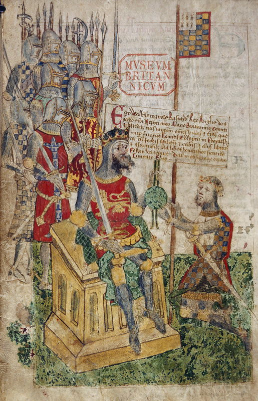 William I and Earl of Brittany