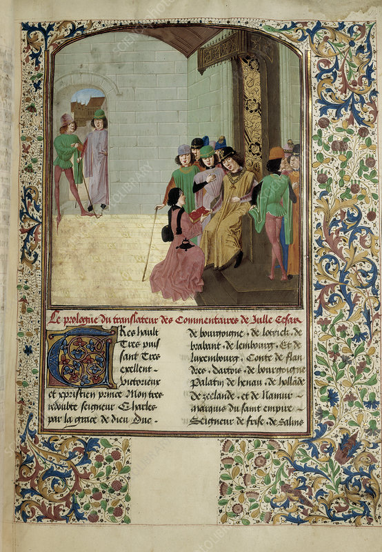 Charles the Bold and author