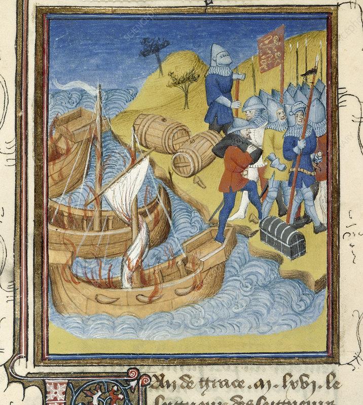 Duke William invades England