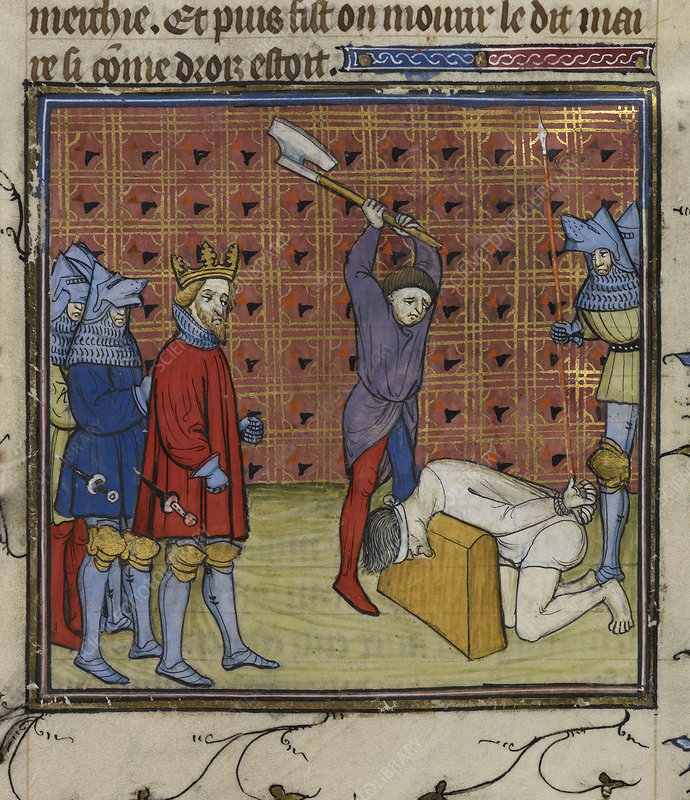 Execution of Jacquerie leaders