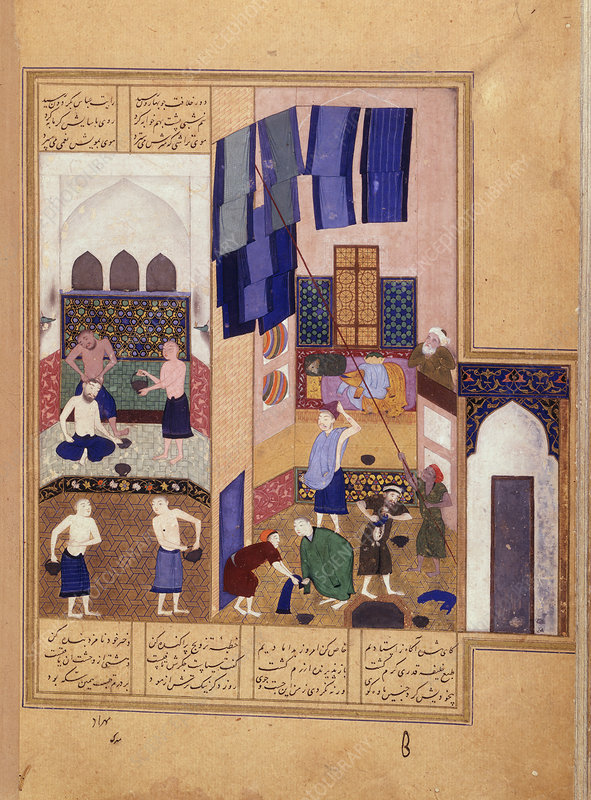 Harun al-Rashid and the barber