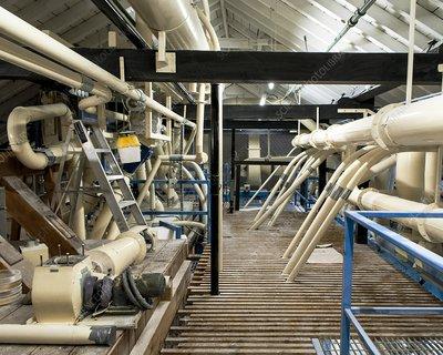 Flour mill machinery